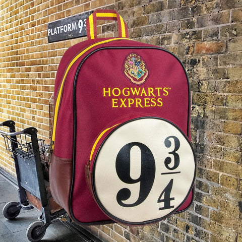 Harry Potter Backpack: Platform 9 ¾