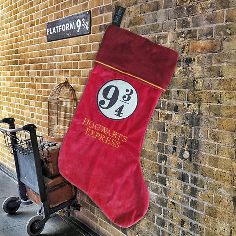 Harry Potter Platform 9 3/4 Christmas Stocking