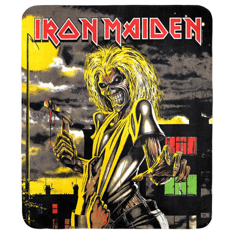 Iron Maiden Throw Rug - Killers