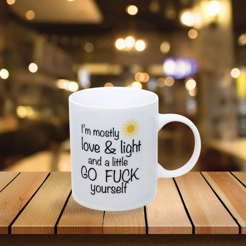 I'm Mostly Sunshine Mug