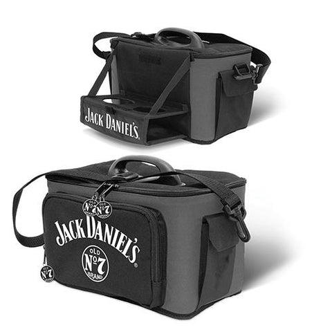 Jack Daniels Cooler Bag, with Pull Down Drinks Tray