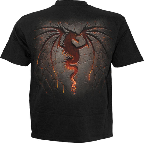 Spiral Dragon Furnace Tee