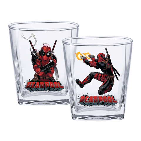 Deadpool Spirit Glasses Set Of 2