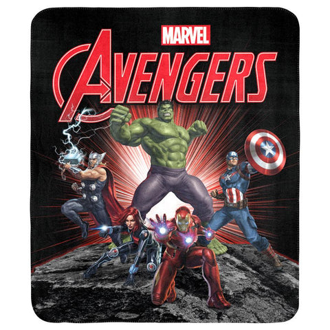 Marvel Avengers Throw Rug