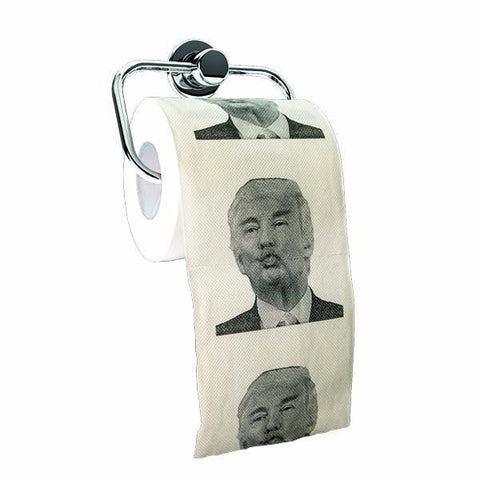Toilet Paper Donald Trump Pucker Up