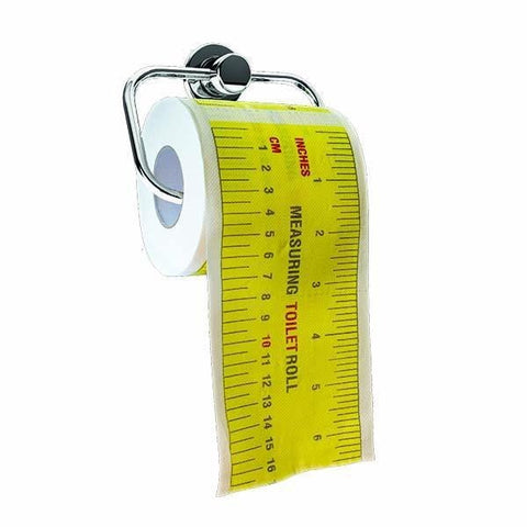 Toilet Paper Tape Measure