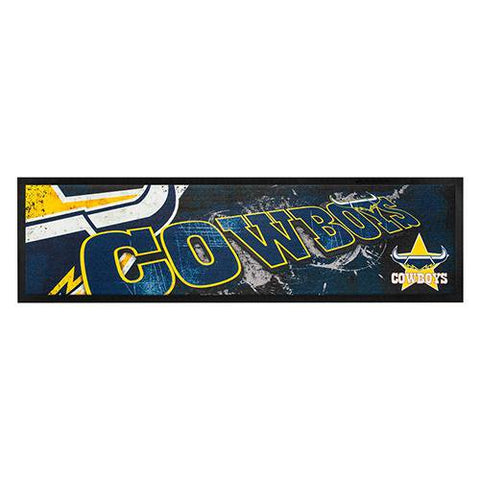 NRL Bar Runner Rubber Rolled Cowboys