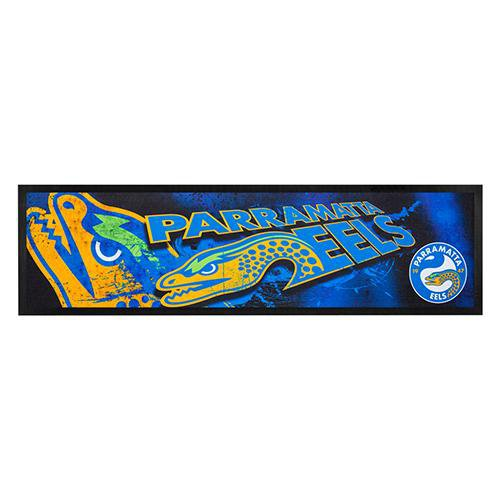 NRL Bar Runner Rubber Rolled Eels