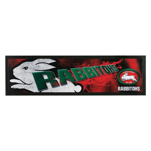 NRL Bar Runner Rubber Rolled Rabbitohs