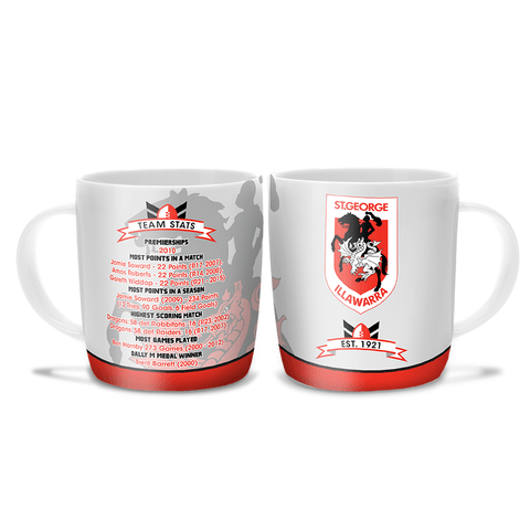 NRL COFFEE MUG CLUB HISTORY DRAGONS