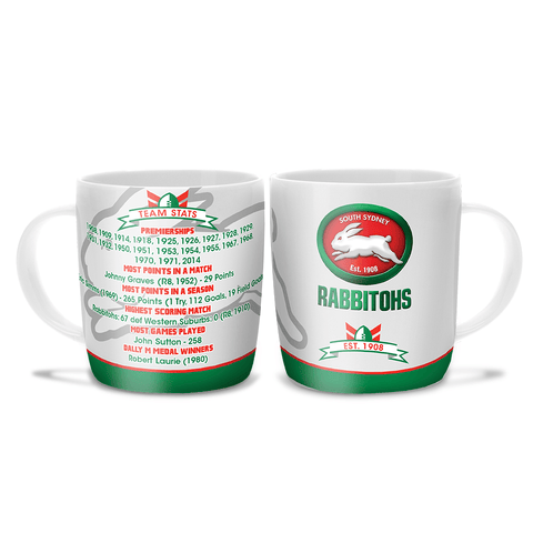NRL COFFEE MUG CLUB HISTORY RABBITOHS