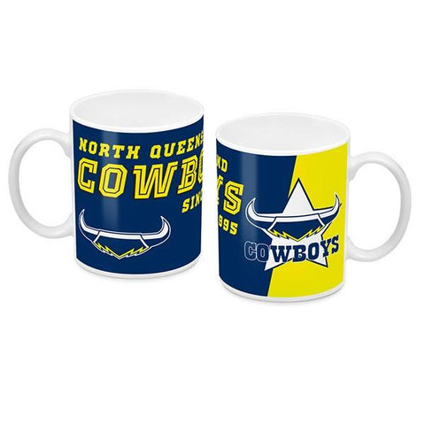 NRL COFFEE MUG LOGO 2018 COWBOYS