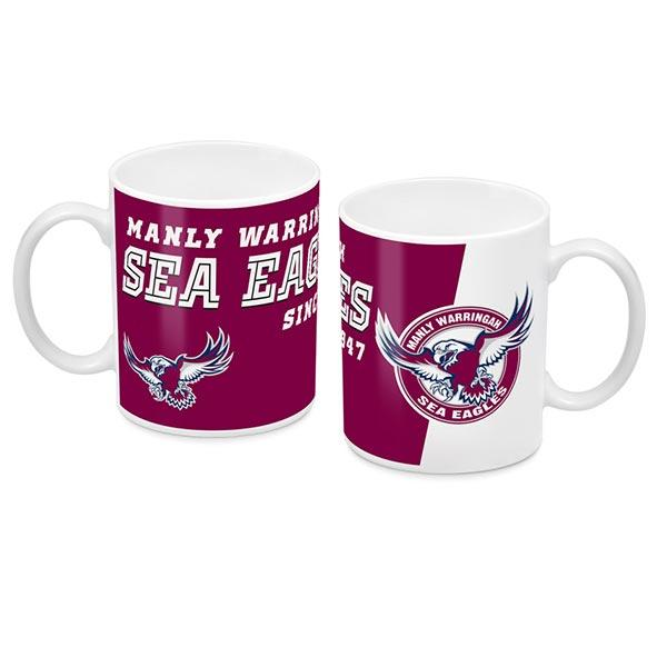 NRL COFFEE MUG LOGO 2018 MANLY