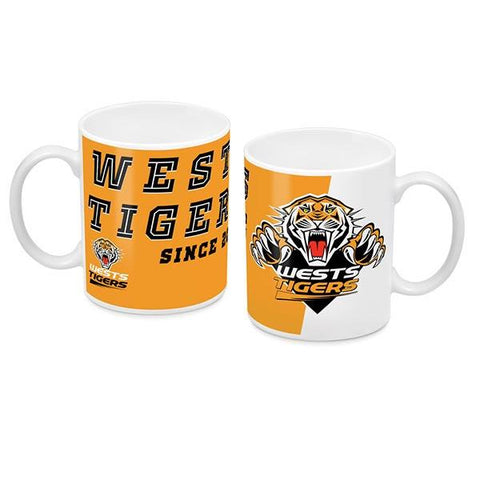 NRL COFFEE MUG LOGO 2018 TIGERS