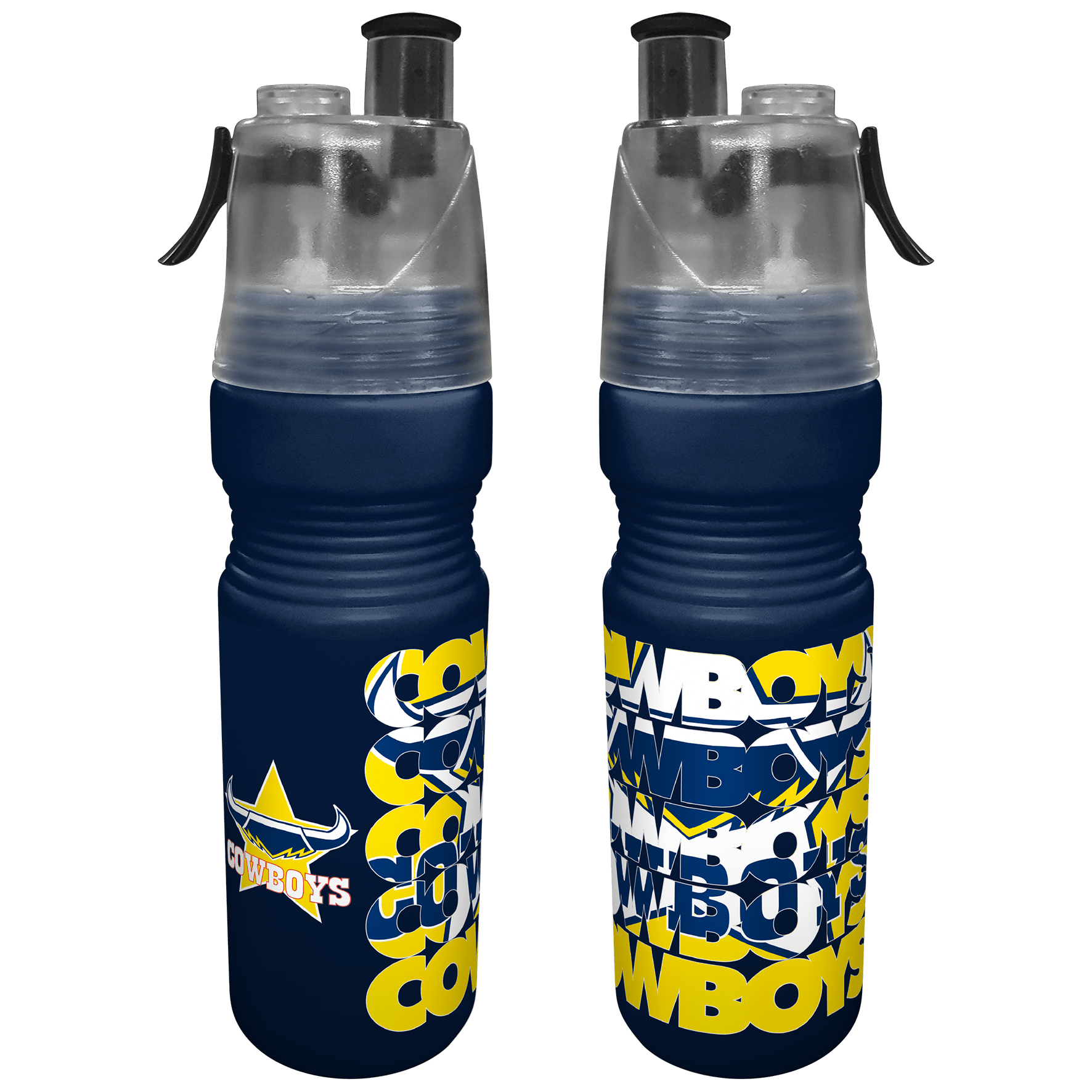 NRL Misting Bottle Cowboys
