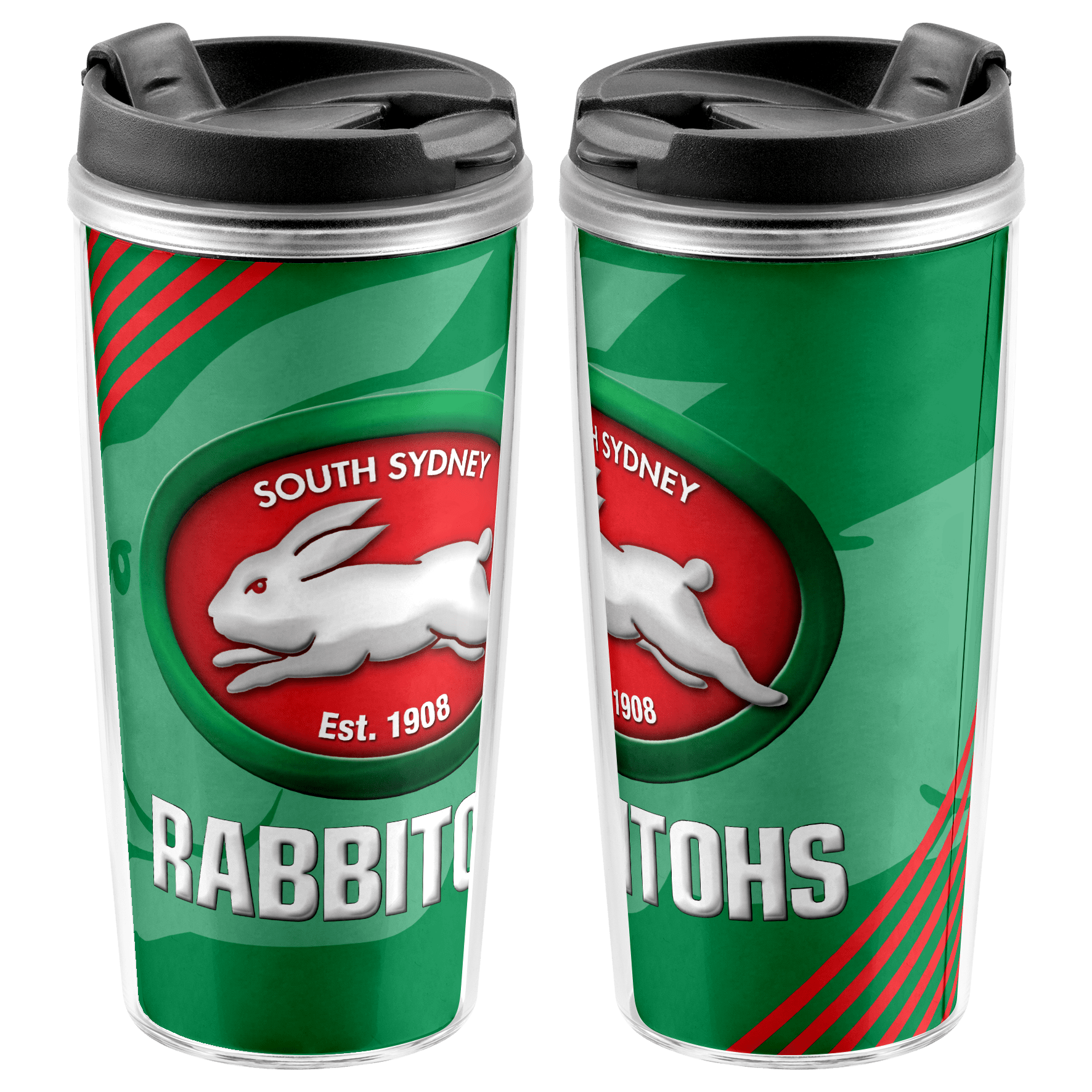 NRL Travel Mug Rabbitohs
