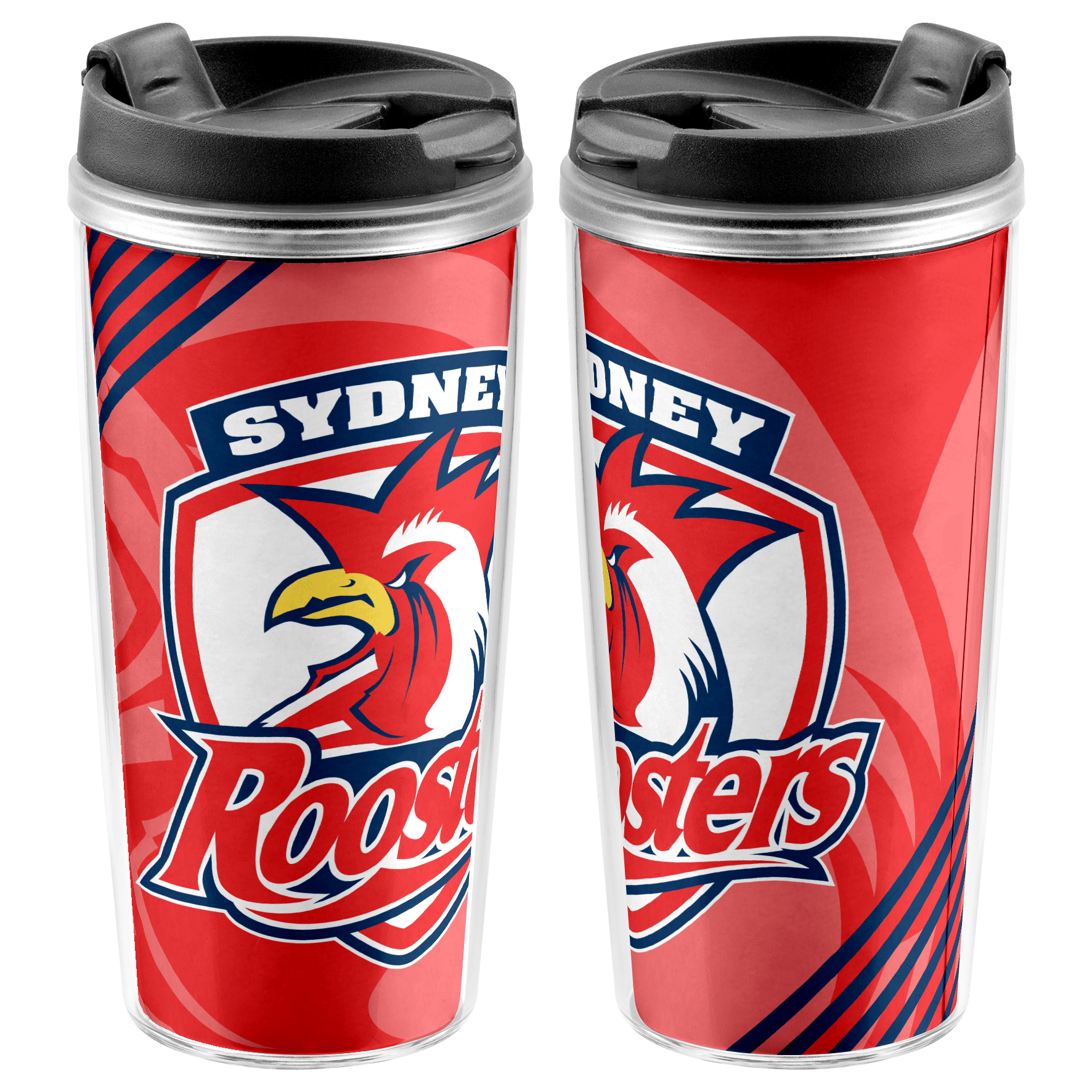 NRL Travel Mug Roosters
