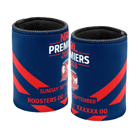 NRL Sydney Roosters Premier 2018 Team Can Cooler