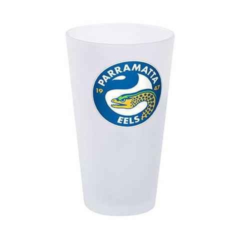 NRL Glass Frosted Eels