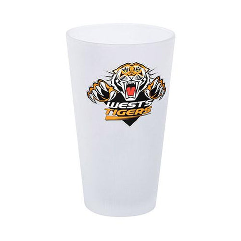 NRL Glass Frosted Tigers