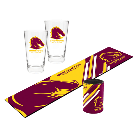 NRL Bar Essentials Gift Pack Broncos