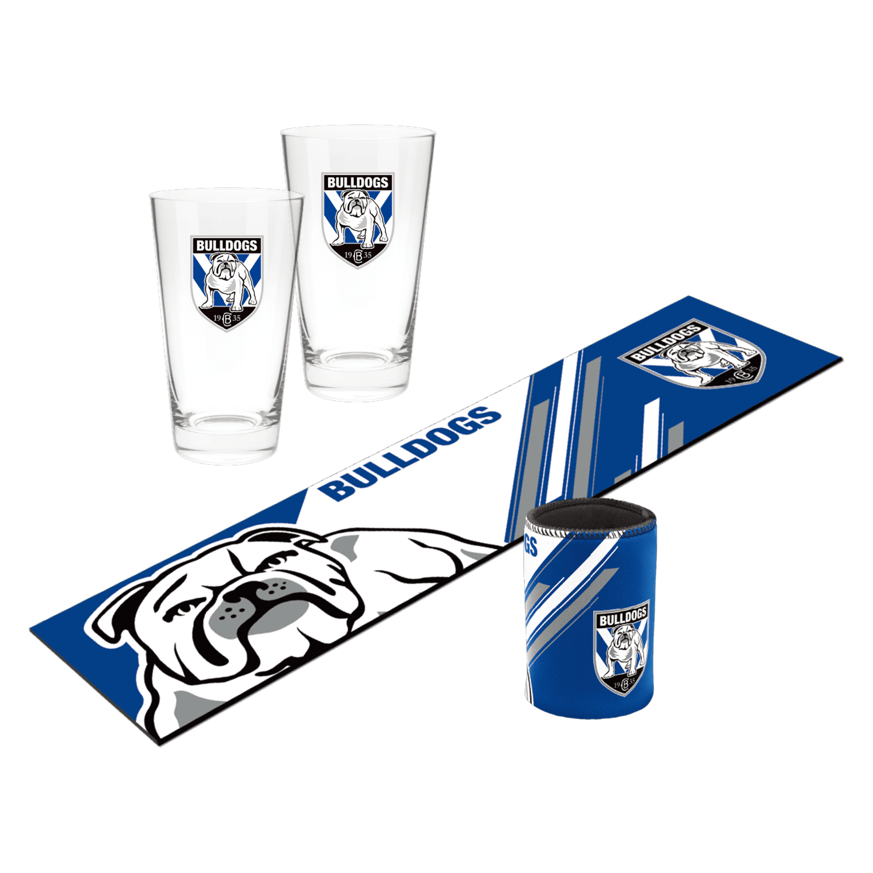 NRL Bar Essentials Gift Pack Bulldogs