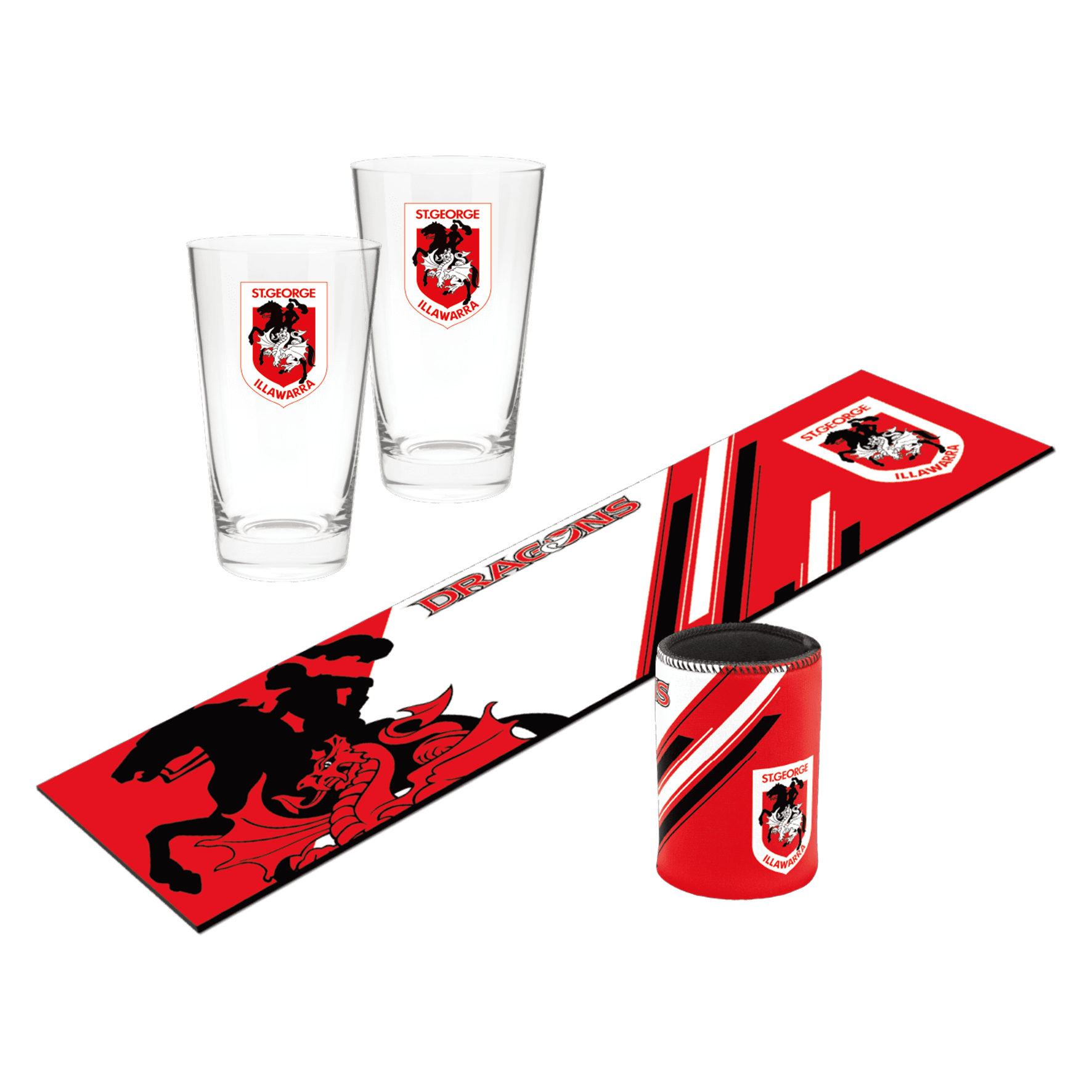NRL Bar Essentials Gift Pack Dragons