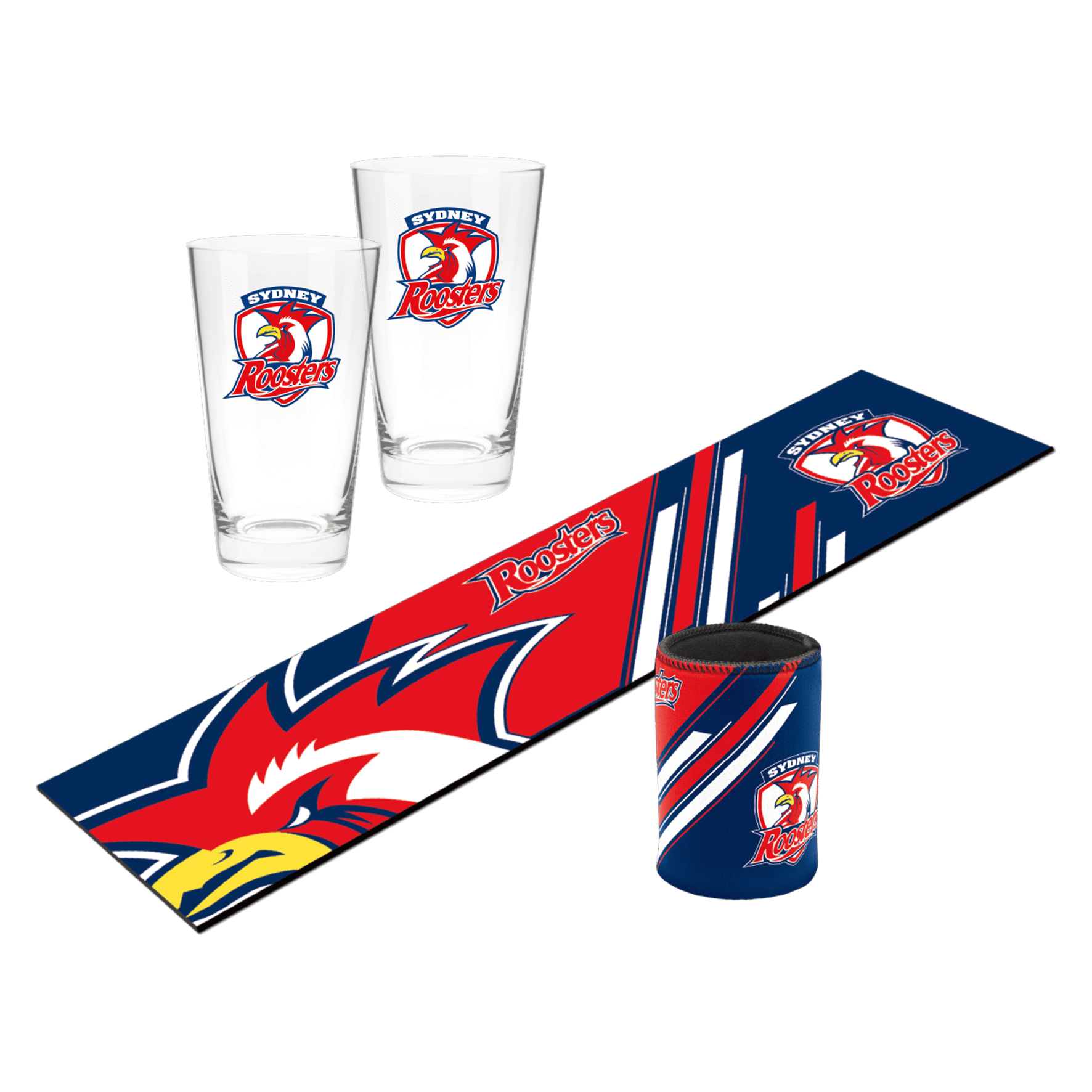 NRL Bar Essentials Gift Pack Roosters