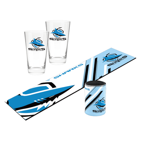 NRL Bar Essentials Gift Pack Sharks