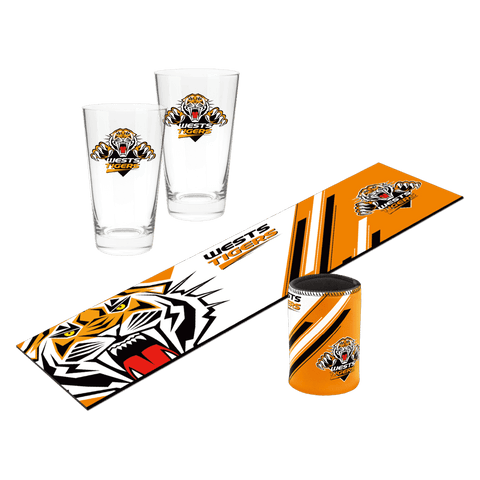 NRL Bar Essentials Gift Pack Tigers