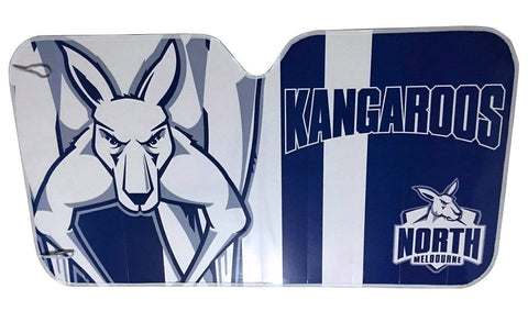 AFL Car Shade Kangaroos