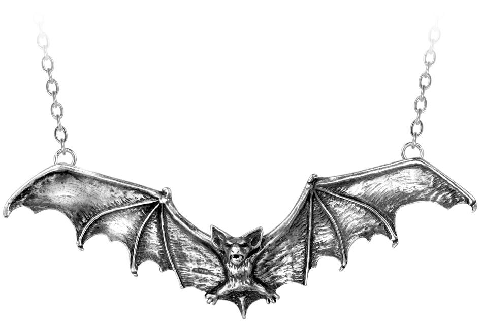 Alchemy Necklace Gothic Bat