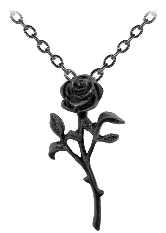 Alchemy Pendant The Romance Of The Black Rose