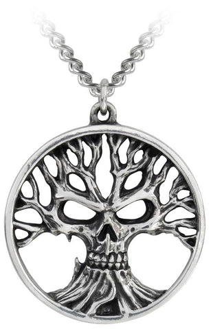 Alchemy Pendant Gotik Tree Of Death