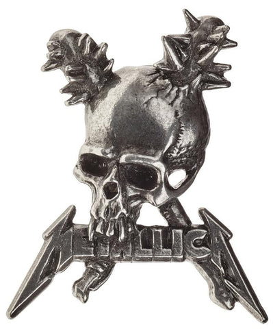 Alchemy Badge Metallica: Damage Inc. Skull