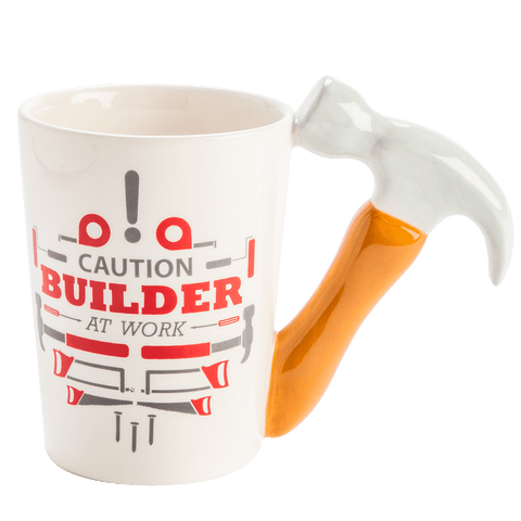 Shaped Mug - Tradie Hammer