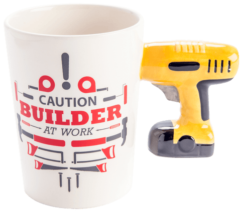 Shaped Mug - Tradie Power Drill