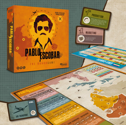 Pablo Escobar The Board Game - Preorder Online Now