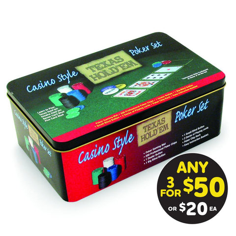 Casino Style Texas Hold'em Poker Set