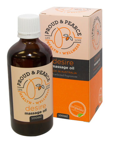 Proud And Pearce Massage Oil - 'Desire' 100ml