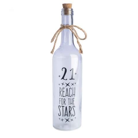 Wishlight Bottle 21st Birthday
