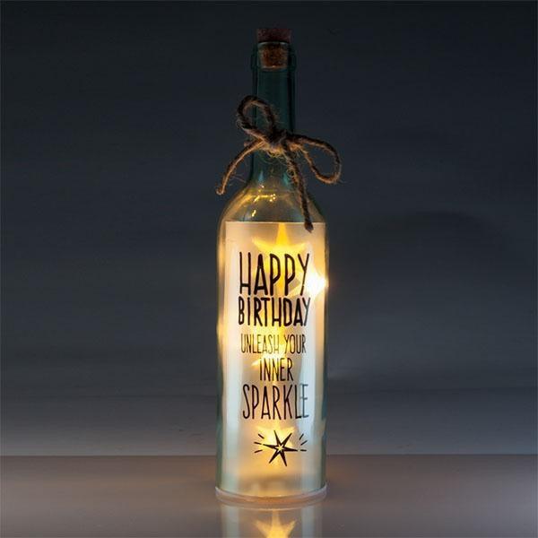 Wishlight Bottle Happy Bday