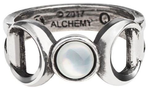 Alchemy Ring N Triple Goddess