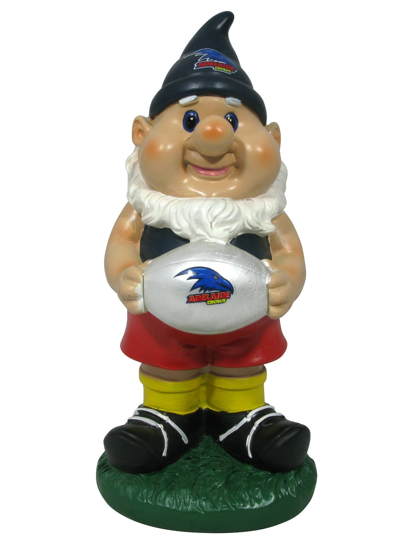 AFL Adelaide Crows Solar Gnome with Light up Ball