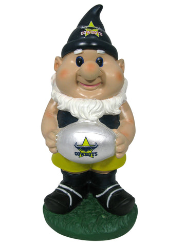 NRL Solar Gnome with Light Up Ball Cowboys