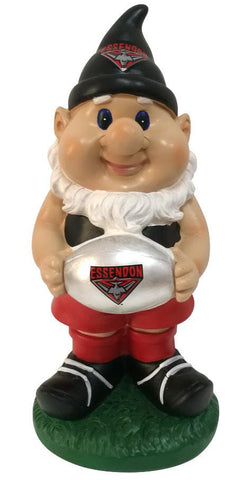 AFL Solar Gnome with Light Up Essendon