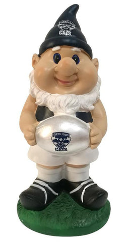 AFL Solar Gnome with Light Up Geelong