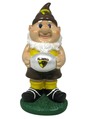 AFL Solar Gnome with Light Up Hawthorn
