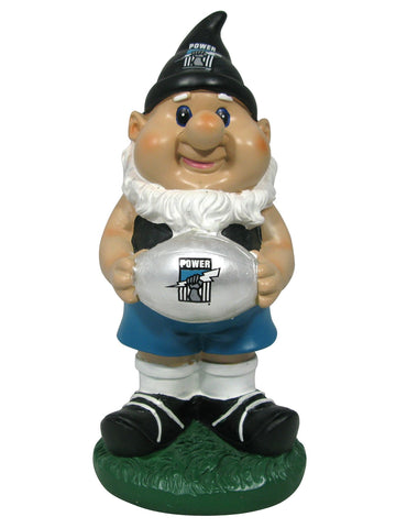AFL Solar Gnome with Light Up Port Adelaide