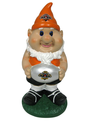 NRL Solar Gnome with Light Up Ball Tigers